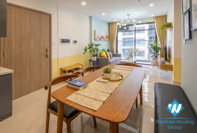 Nice three bedroom apartment for rent at S2-06 Vinhome Ocean Park Gia Lam