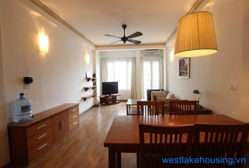 Cosy apartment for rent  in Trang An st, Hoan Kiem district, Hanoi