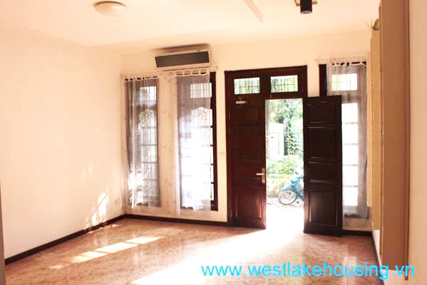 Unfurnished house for rent in Ciputra, Tay Ho, Hanoi