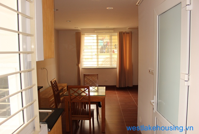 Brand new one bedroom apartment for rent in Au Co street, Hanoi