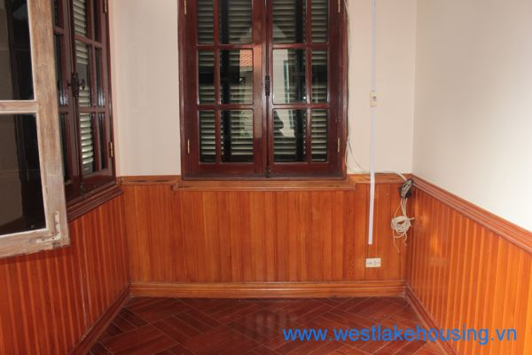 Nice house with 4 bedrooms for rent in Dang Thai Mai, Tay Ho, Ha Noi