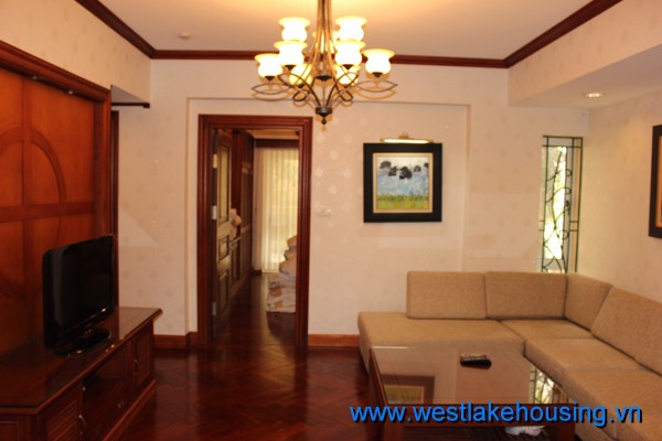 Modern and Beautiful apartment with 2 bedrooms for rent in tay Ho district, Ha Noi