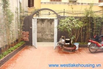 Small house with one bedroom for rent in To Ngoc Van st, Tay Ho, Ha Noi