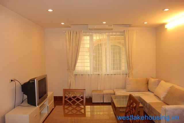 one bedroom apartment for rent in Au co st, Tay Ho, Ha Noi