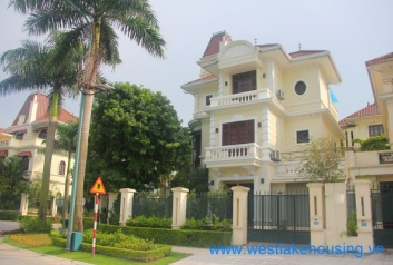 Newly renovated and spacious house for rent in Ciputra, Tay Ho, Hanoi