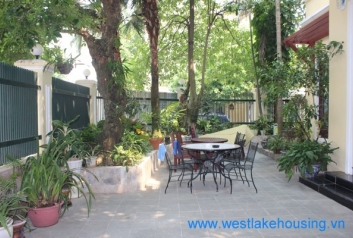 Charming and nice house for rent in Ciputra, Tay Ho, Ha Noi