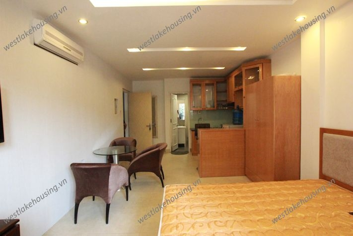 Beautiful studio apartment for rent in Dang Thai Mai St, Tay Ho, Ha Noi
