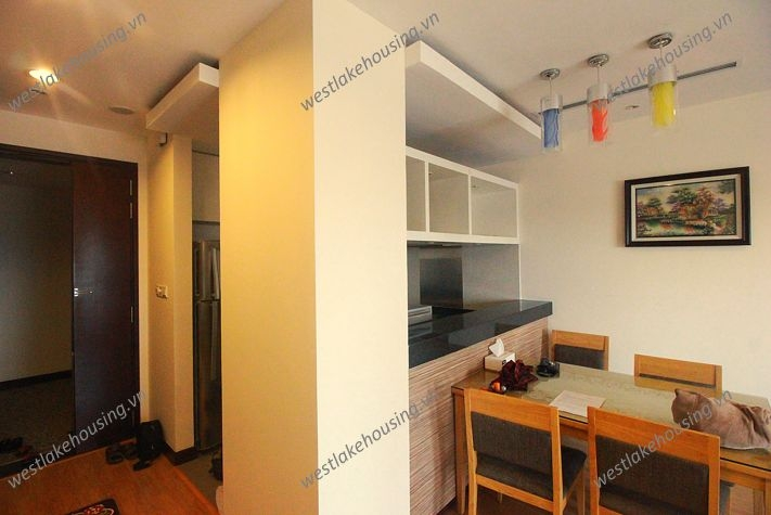 Modern apartment for rent in Hoa Binh Green Tower, Ba Dinh, Hanoi