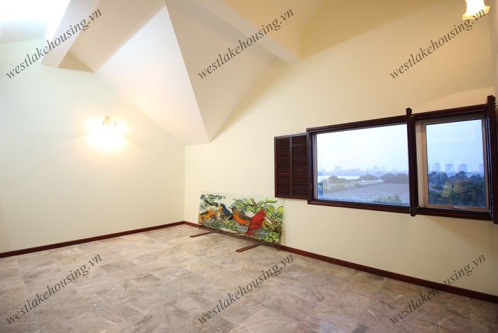 Charming villa with indoor swimming pool for rent in Tay Ho, Hanoi