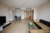 A large and nice apartment with 3 bebrooms for rent in the Sky City Tower, Lang Ha, Dong Da, Ha Noi