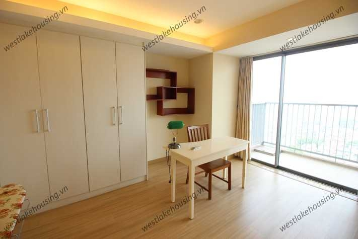 A modern apartment with 2 bedrooms for rent in the Sky City Tower, Dong Da, Ha Noi