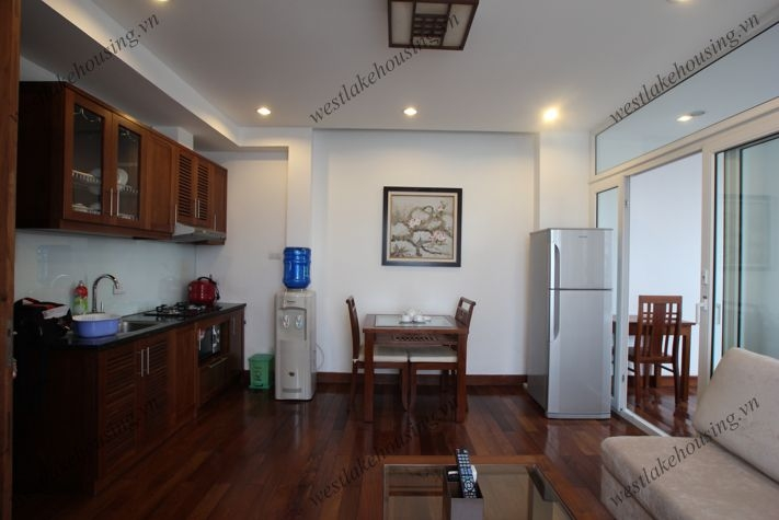 High floor apartment with great lake view for rent in Truc Bach, Hanoi