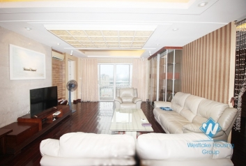 Apartment with 02 bedrooms and balcony for rent in Ciputra, Tay Ho.