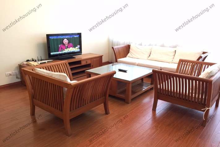 Cozy fully furnished apartment for rent in Ciputra