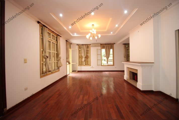 Spacious house/villa for rent in Tay Ho, Hanoi
