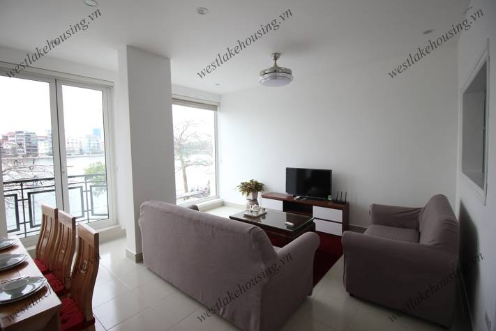 New apartment with lake view for rent in Tay ho area