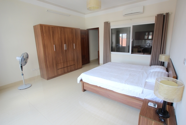 Bright and clean serviced apartment for rent in Tay Ho, Hanoi