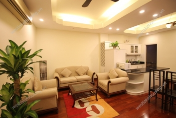Two bedrooms with good price apartment for rent in Hoan Kiem district, Ha Noi