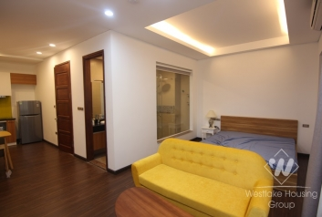 New studio apartment for rent in Xuan dieu st, Tay Ho district