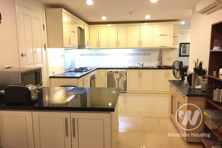 An penthouse apartment for rent at P building Ciputra, Ha Noi