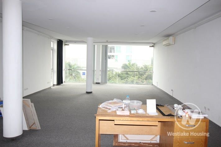 Spacious office space with lots of light for rent in Tay Ho