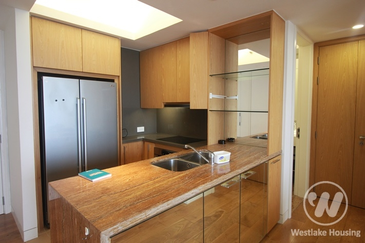 A lovely apartment 98sqm with 2 bedrooms, 2 bathrooms for rent in Indochina!