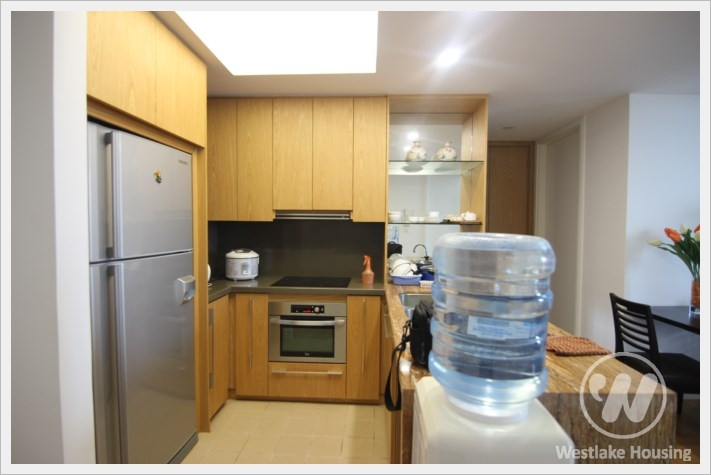 Spacious apartment for rent in complex Indochina