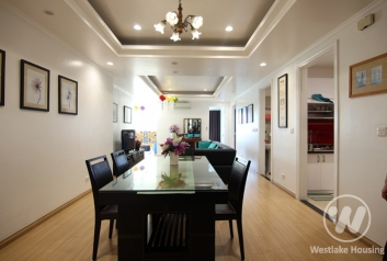 A nice apartment for rent in E building, Ciputra International Ha Noi City