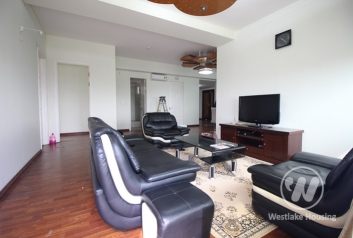 High floor furnished apartment rental in Ciputra