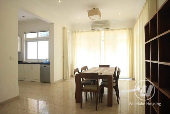 Ciputra resident - furnished 4BR house with tiled yard front & back