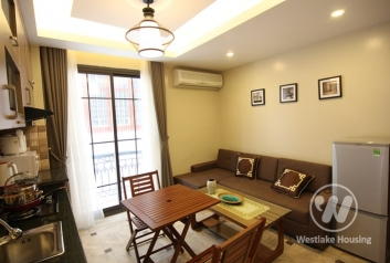 Japanese style apartment for rent in Dao Tan street, Ba Dinh district, Ha Noi