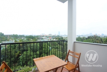 Superior lakeview duplex apartment rental in Tay Ho