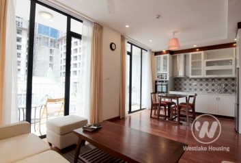 Compact & modern apartment for rent off Tay Ho road, Tay Ho, Hanoi