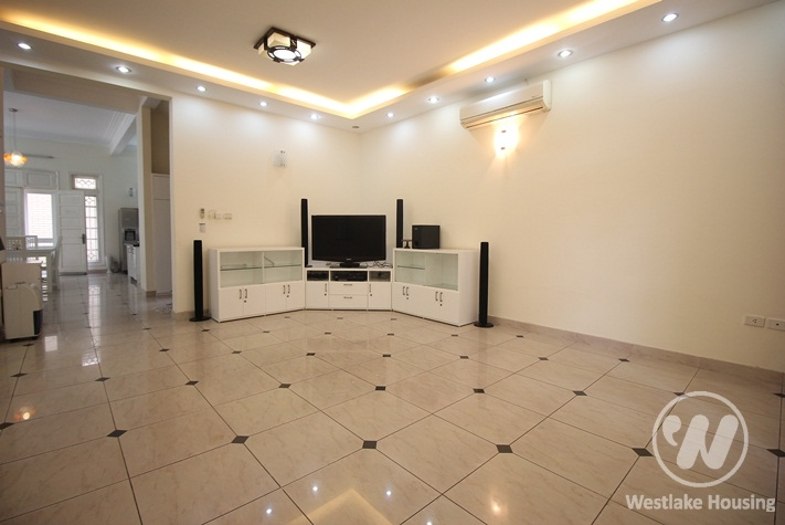 4 bedrooms, full furniture house in Ciputra Ha Noi for rent.