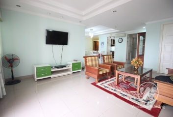 Furnished, high floor apartment rental in Ciputra E Tower, close to UNIS