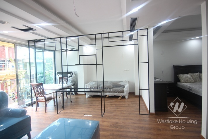 Brand new two bedrooms apartment for rent in Truc Bach area, Ha Noi
