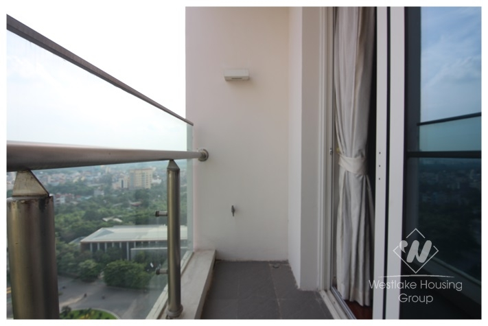 Spacious apartment for rent in Ciputra Tay Ho, Ha Noi