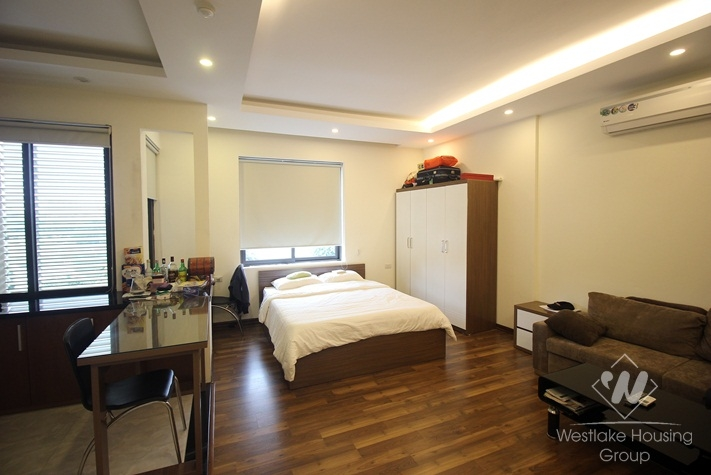 Fully furnished studio for rent in Dong Da, Ha Noi