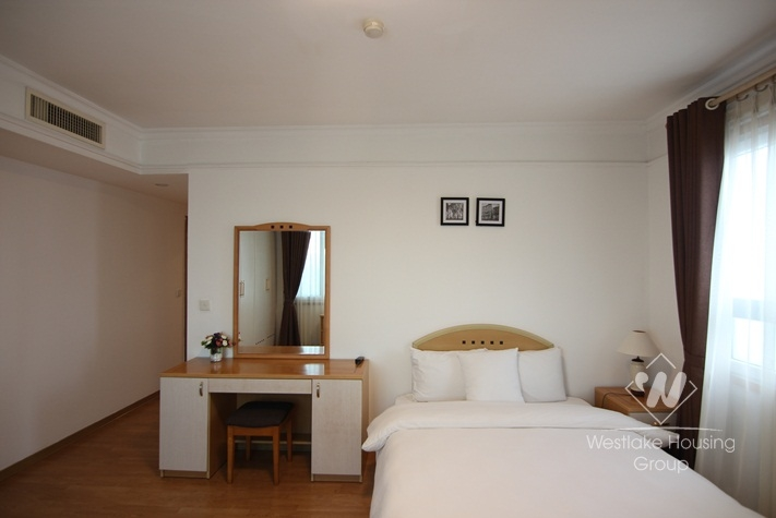 Superior serviced apartment for rent on Ngoc Khanh road, Ba Dinh