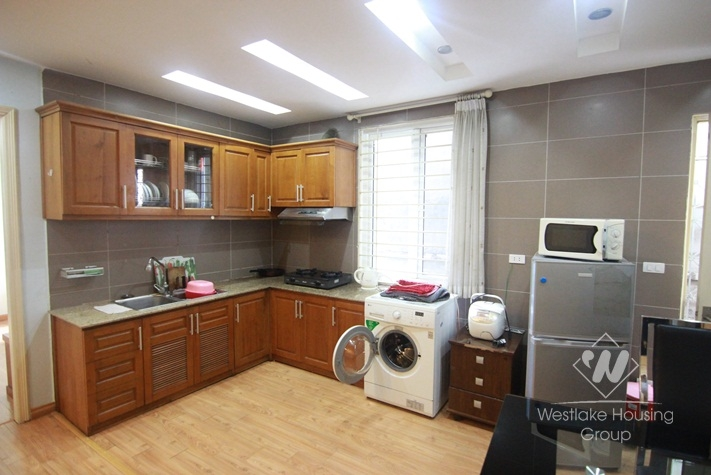 Cheap two bedrooms apartment for rent near Quan Ngua stadium Ba Dinh district, Ha Noi