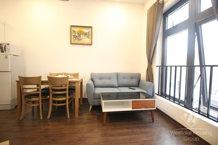 Spacious one bedroom apartment for rent in Cau Giay