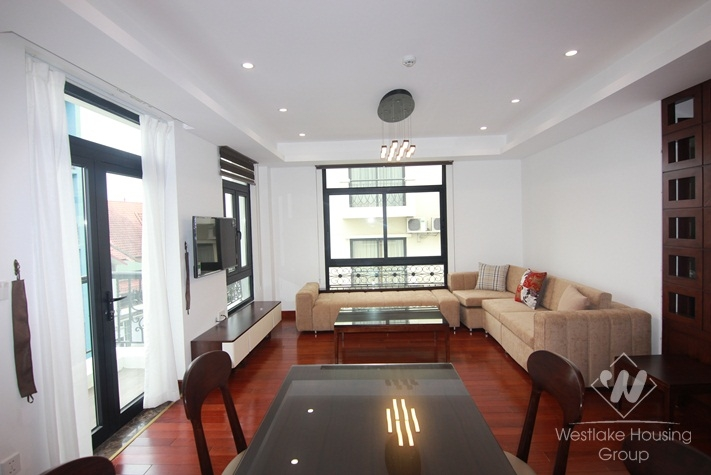 High floor apartment for rent in Au Co, Tay Ho, Ha Noi