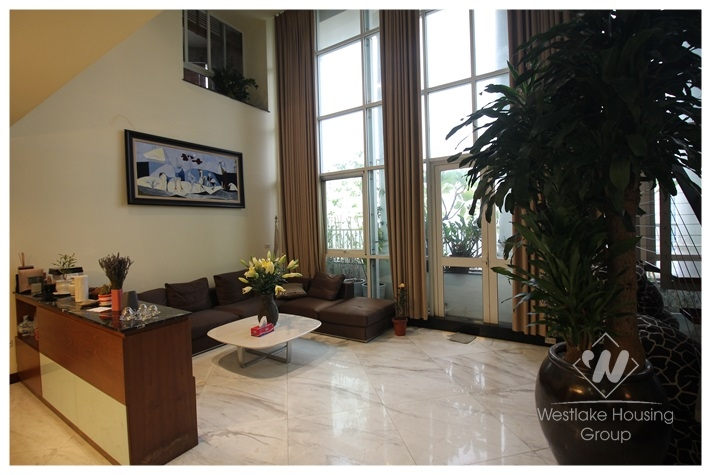 Elegant apartment with 4 bedrooms for rent in Ciputra