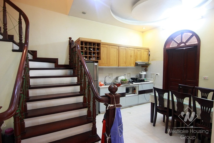 Spacious 4 bedroom house for rent in Tay Ho, Ha Noi