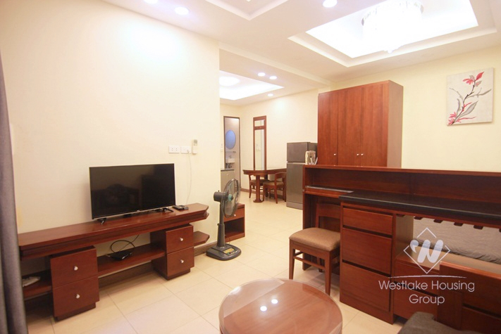 Ba Dinh - Ground floor studio rental with a large yard
