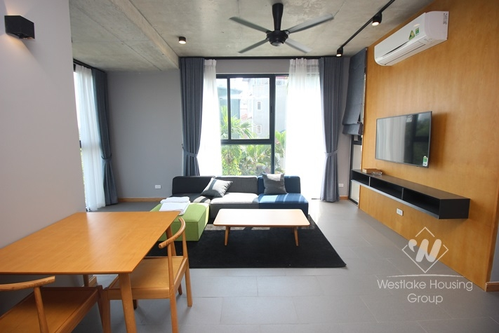 Well design two bedrooms apartment for rent in Ho Ba Mau, Dong Da district, Ha Noi