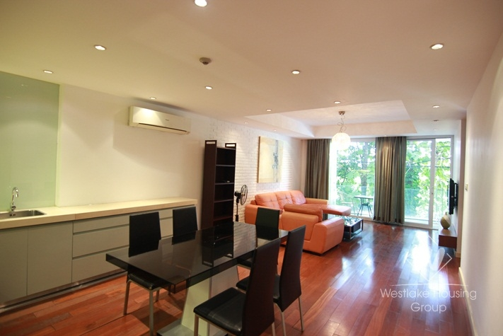 Big two bedrooms apartment for rent in Tay Ho street, Tay Ho district, Ha Noi