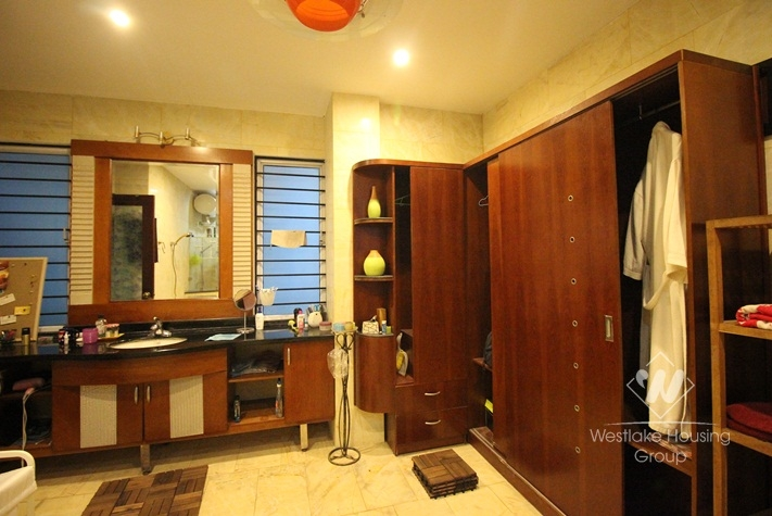 Modern furnished villa for rent in Tay Ho