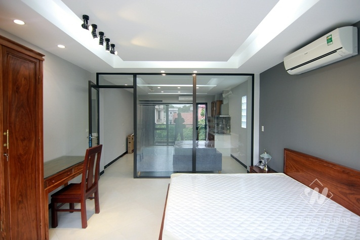 A brandnew apartment with balcony for rent in Tay Ho, Ha Noi