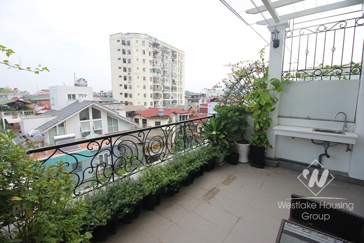 Luxurious studio apartment for rent in Ba Dinh